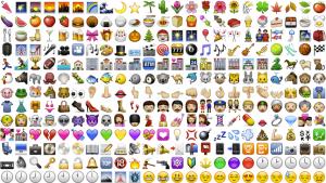Image showing various emoji