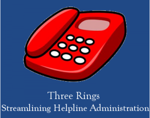 The old 'Red Phone' logo of Three Rings Ltd